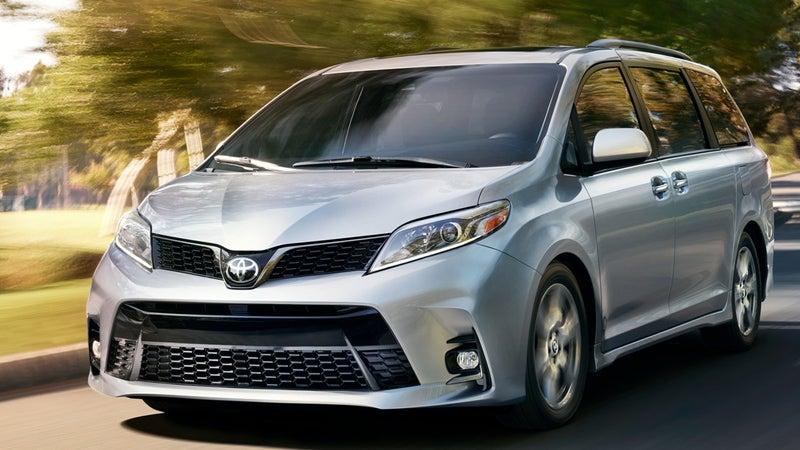 2018 toyota sienna toyota sienna in kingsport tn. Black Bedroom Furniture Sets. Home Design Ideas